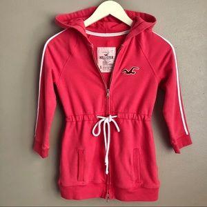 [HCO] Pink Zip Up Jacket